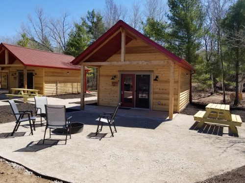 Cuyuna Recreation Area Cabins For Rent at Red Rider Resort Crosby MN